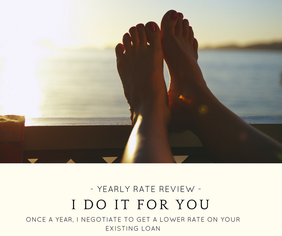 Yearly rate review